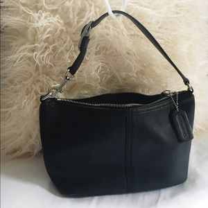 coach leather mini demi shoulder bag 9596